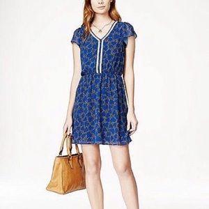 Blue Madison Jules Print Dress -Small